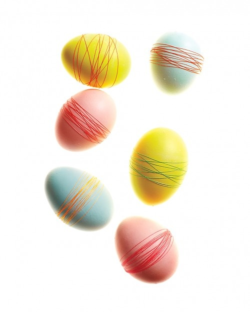 Multi Thread Wrapped Eggs