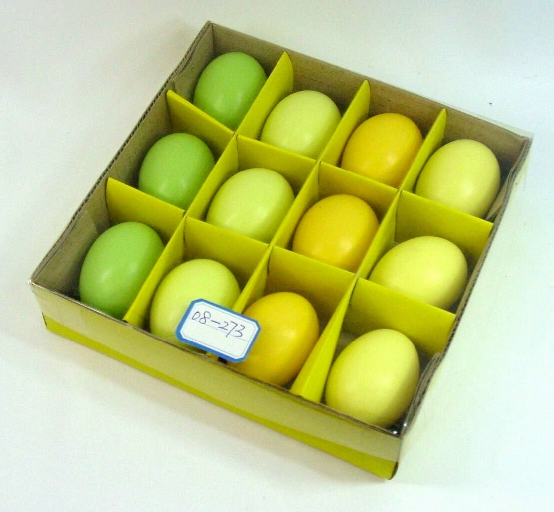Yellow Green Easter Eggs